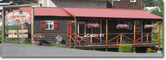 Front View of Cabin One