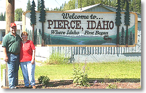 Pierce Welcome Sign